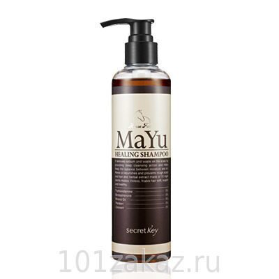 Secret Key MAYU Healing Shampoo �������� ����������� ������� ��� ����� � ������� �����, 240 ��