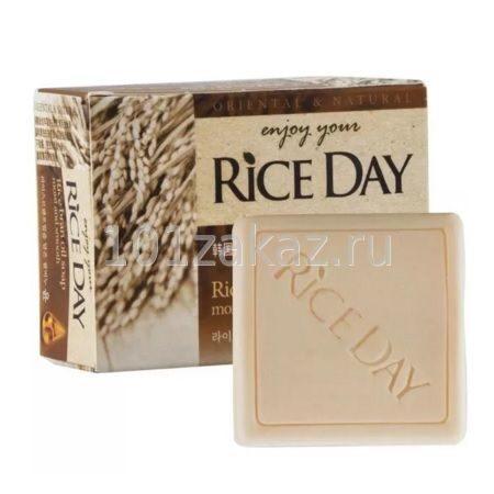 Рисовое мыло CJ Lion Rice Day с маслом рисовых отрубей, 100 г