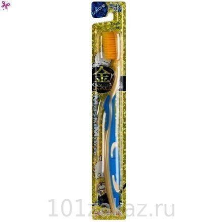 Зубная щетка EQ MAXON Nano Gold Toothbrush c наночастицами золота