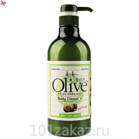 Olive Body Cleanser гель для душа с экстрактом оливы для сухой кожи, 750 г