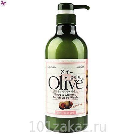 Olive Baby & Mammy Touch Body Wash гель для душа с экстрактом оливы для мамы и ребенка, 750 г