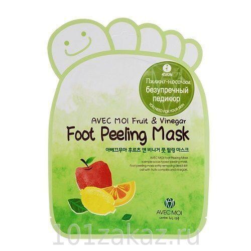�������-������� ��� �������� Avec Moi Foot Peeling Mask, 1 ����