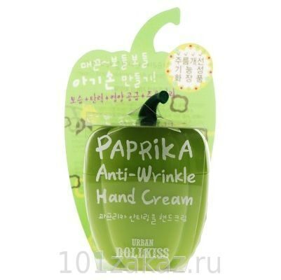 Baviphat Urban Dollkiss Paprika Anti-Wrinkle Hand Cream антивозрастной крем для рук, 25 г