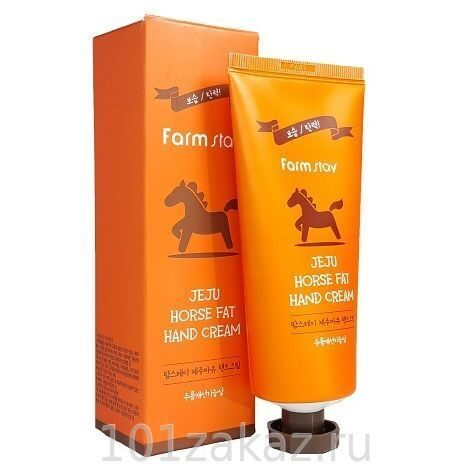 Farmstay Jeju Horse Fat Hand Cream ����������������� ���� ��� ��� � ��������� �����, 100 �