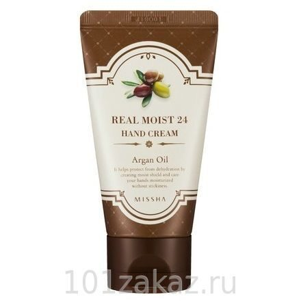 Missha Real Moist 24 Hand Cream Argan Oil увлажняющий крем для рук с маслом арганы, 70 мл