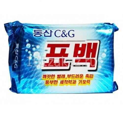 CLIO мыло хозяйственное отбеливающее для стирки, 230 г