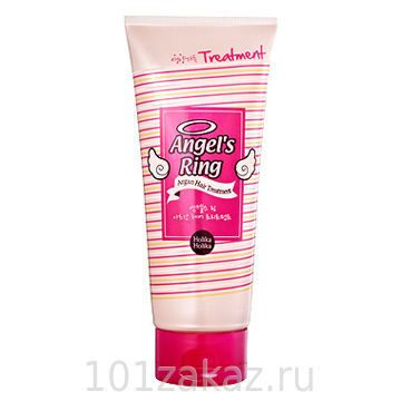 Holika Holika Angel's Ring Argan Hair Treatment восстанавливающая маска для волос Ангельские кудри, 200 мл