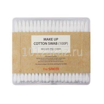 The SAEM Makeup Cotton Swab ватные палочки с деревянным стержнем, 100 шт