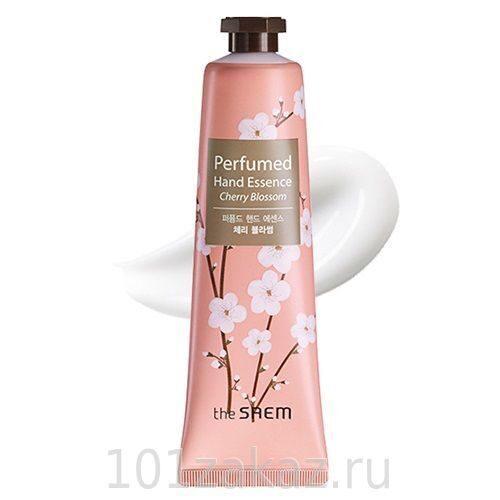 The SAEM Perfumed Hand Essence Cherry Blossom парфюмированный крем-эссенция для рук Вишневый цвет, 30 мл