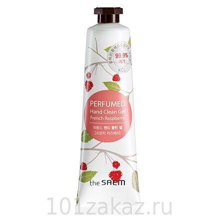 The SAEM Perfumed Hand Clean Gel French Raspberry очищающий парфюмированный гель для рук Французская малина, 30 мл