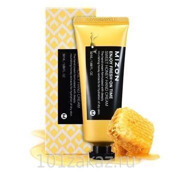 Mizon Enjoy Fresh-On Time Sweet Honey Hand Cream ���� ��� ��� � ���������� ����, 50 ��
