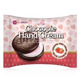 The SAEM Chocopie Hand Cream Strawberry крем для рук клубничный, 35 мл