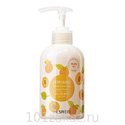 The SAEM Perfumed Hand Clean Gel Sugar Peach очищающий парфюмированный гель для рук Сахарный абрикос, 300 мл