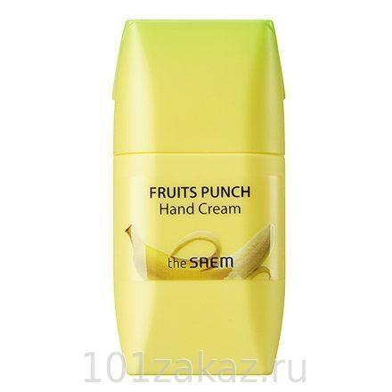 The SAEM Fruits Punch Banana Hand Cream крем для рук банановый пунш, 50 мл