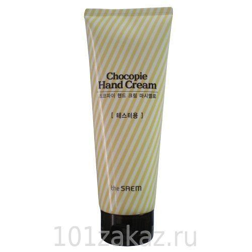 The SAEM Chocopie Hand Cream Marshmallow крем для рук (зефир), 240 мл
