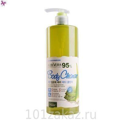 White Organia Good Natural Aloe Vera Body Cleanser ����������� ���� ��� ���� � ����� ����, 500 ��