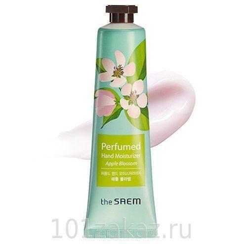 The SAEM Perfumed Hand Moisturizer Apple Blossom крем для рук парфюмированный увлажняющий с экстрактом цветов яблони, 30 мл