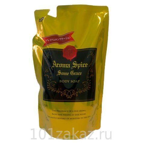 Eoria Aroma Spice Some Grace Body Soap Premium Temptation жидкое мыло для тела с гиалуроновой кислотой, 400 мл