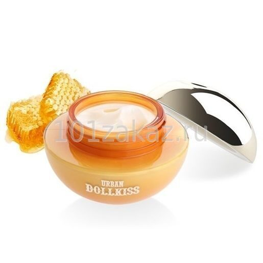 Baviphat Urban Dollkiss Delicious Honey Coating Pack & Cream смягчающая крем-маска с экстрактом меда, 80 мл