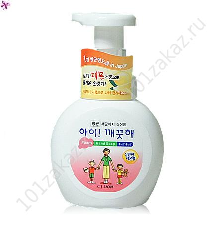 CJ Lion Ai-Kekute жидкое мыло-пенка для рук с антибактериальным эффектом, 250 мл