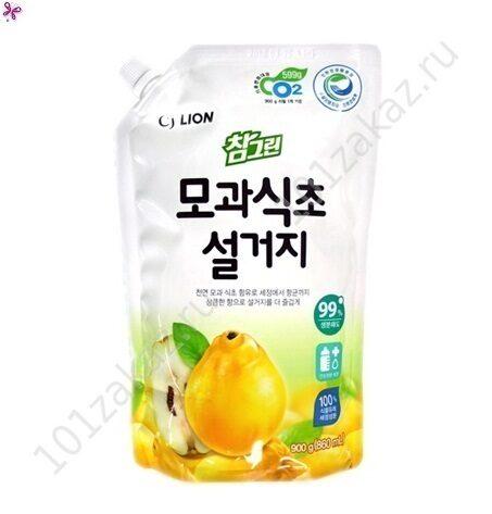 """Средство для мытья посуды, фруктов и овощей CJ Lion Chamgreen """"Айва"""", 900 г"""