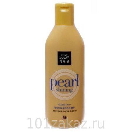 "Шампунь для волос Mise en Scene Pearl Shining (Moisture) ""Увлажнение"", 180 мл"