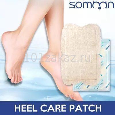 Маска-пластырь для ухода за пятками Somoon Shine & Sleek Heel Care Patch, 1 пара