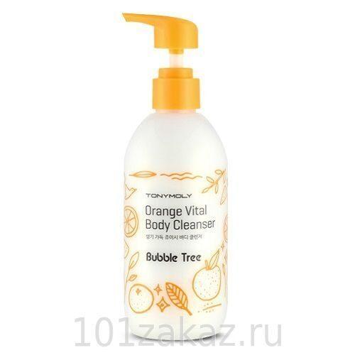 Tony Moly Bubble Tree Orange Vital Body Cleanser цитрусовый гель для душа, 300 мл