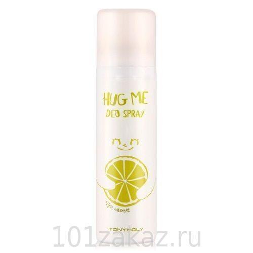 Tony Moly Hug Me Deo Spray Citrus дезодорант-спрей для тела, 100 мл