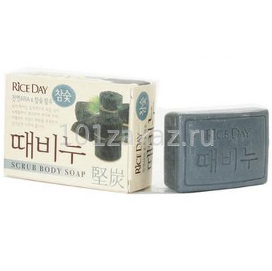 ����-����� ��� ���� CJ Lion Rice Day Scrub Body Soap ��������� �����, 100 �