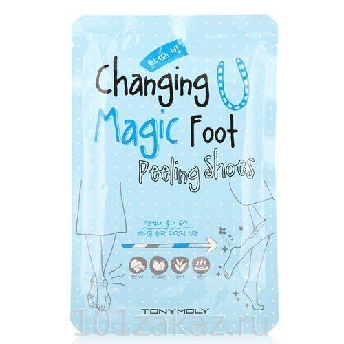 Tony Moly Changing U Magic Foot Peeling Shoes пилинг-носочки для ног, 1 пара
