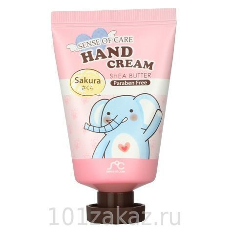 Rainbow Sense of Care Hand Cream Shea Butter Sakura крем для рук с маслом ши и экстрактом сакуры, 35 г