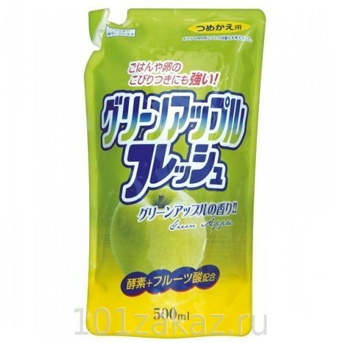 Rocket Soap жидкость для мытья посуды Fresh - свежесть яблока, 500 мл