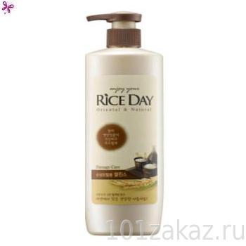 """Кондиционер для поврежденных волос CJ Lion Rice Day """"Damage Care"""", 550 мл"""