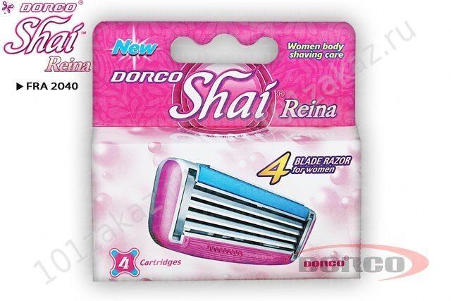DORCO SHAI Reina сменные кассеты, 4 шт