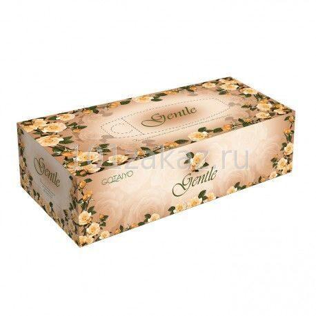 Двухслойные салфетки ароматизированные GOTAIYO Gentle, 200 шт