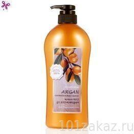Увлажняющий гель для душа ECOennea Argan Gold Moisture Body Cleanser с аргановым маслом, 730 г