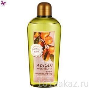 Увлажняющее аргановое масло для тела ECOennea Argan, 200 мл
