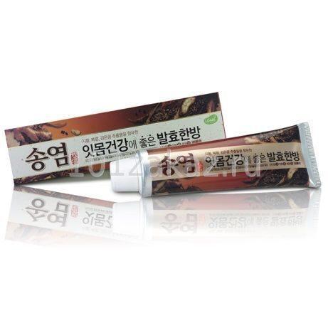 Зубная паста Median Sogyum Goeundan Зеленый чай и женьшень, 130 г