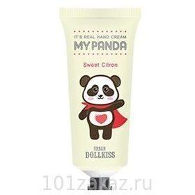 Baviphat Urban Dollkiss It's Real My Panda Hand Cream #03 Sweet Citron крем для рук с экстрактом цитрона, 30 г