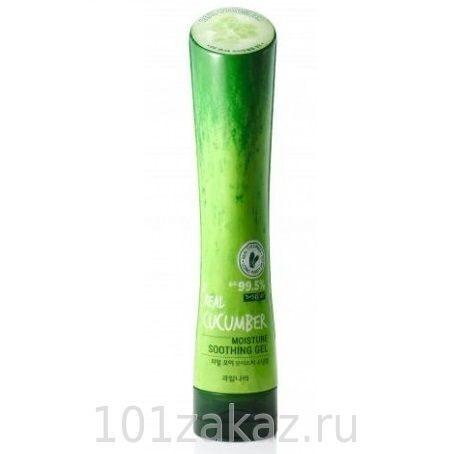 Welcos Kwailnara Real Cucumber Moisture Soothing Gel увлажняющий успокаивающий гель для тела с экстрактом огурца, 250 мл