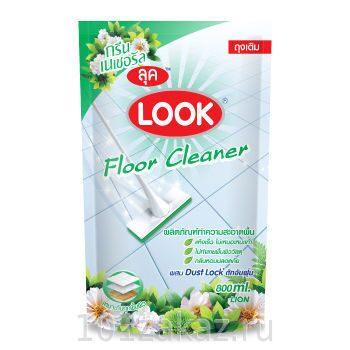 """Средство для мытья пола LION Look """"Пыль на замок"""" с ароматом луговых цветов, 800 мл"""