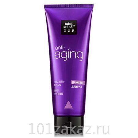 Mise en Scene Black Pearl Anti-Aging Treatment маска для волос антивозрастная, 180 мл