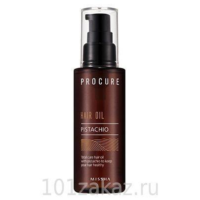 Missha Procure Pistachio Hair Oil фисташковое масло для волос, 80 мл