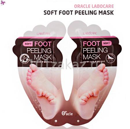 Маска-пилинг для ног Oracle Labocare Soft Foot Peeling Mask