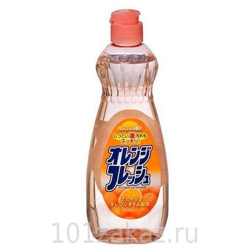 Rocket Soap жидкость для мытья посуды Fresh - свежесть апельсина, 600 мл