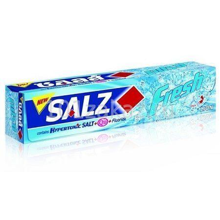 Lion Salz Fresh Toothpaste зубная паста комплексный уход, 160 г
