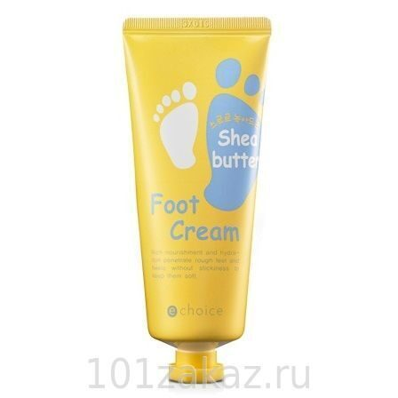 Echoice Shea Butter Foot Cream крем для ног с маслом Ши, 60 г