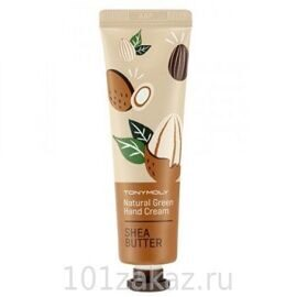 Tony Moly Natural Green Hand Cream Shea Butter крем для рук с маслом ши, 30 мл