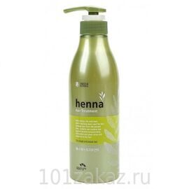 Flor de Man Henna Hair Treatment восстанавливающая маска для волос, 500 мл